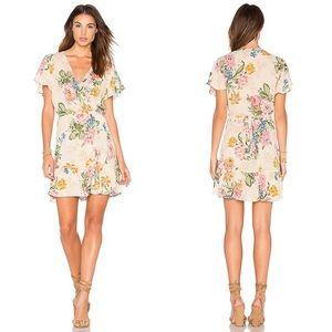 Auguste x Revolve | Havana Nights Frill Wrap Dress